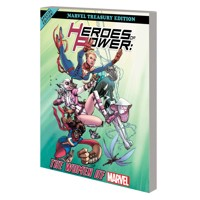 HEROES POWER WOMEN MARVEL ALL NEW MARVEL TREASURY ED TP - Various