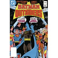 BATMAN & THE OUTSIDERS HC VOL 01 - Mike W. Barr, Marv Wolfman