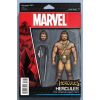 HERCULES #1 CHRISTOPHER ACTION FIGURE VAR - Dan Abnett