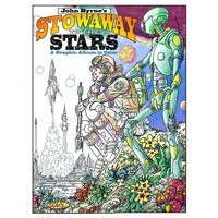JOHN BYRNE STOWAWAY TO THE STARS GRAPHIC ABLUM TO COLOR TP -  John Byrne