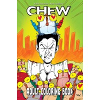 CHEW ADULT COLORING BOOK TP - Rob Guillory