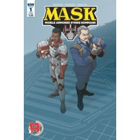 MASK MOBILE ARMORED STRIKE KOMMAND #1 SUB VAR A -  Brandon Easton