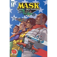 MASK MOBILE ARMORED STRIKE KOMMAND #1 SUB VAR B - Brandon Easton