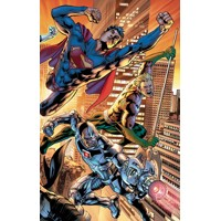 JUSTICE LEAGUE POWER & GLORY HC - Bryan Hitch