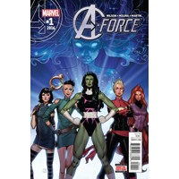 A-FORCE #1 -  G. Willow Wilson