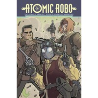 ATOMIC ROBO TP VOL 11 ATOMIC ROBO AND THE TEMPLE OF OD -  Brian Clevinger