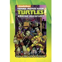 TMNT TEA TIME FOR A TURTLE HC - Ian Flynn, Peter DiCicco, Fabian Rangel,