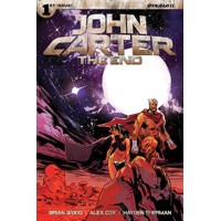JOHN CARTER THE END #1 CVR A BROWN -  Brian Wood, Alex Cox