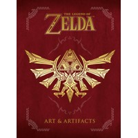 LEGEND OF ZELDA ART & ARTIFACTS HC -  Usa Nintendo