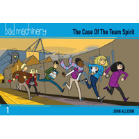 BAD MACHINERY GN VOL 01 POCKET ED -  John Allison
