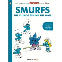 SMURFS THE VILLAGE BEHIND THE WALL HC - Peyo, Delporte