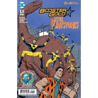 BOOSTER GOLD FLINTSTONES SPECIAL #1 - Mark Russell, Amanda Conner, Jimmy Palmi...