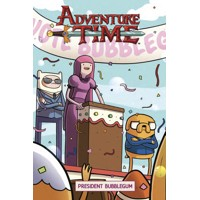 ADVENTURE TIME ORIGINAL GN VOL 08 PRESIDENT BUBBLEGUM - Josh Trujillo
