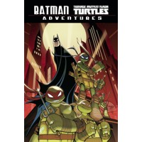 BATMAN TMNT ADVENTURES TP DIRECT MARKET EXC - Matthew K. Manning