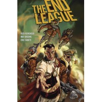 END LEAGUE LIBRARY ED HC - Rick Remender