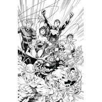 JUSTICE LEAGUE AN ADULT COLORING BOOK TP - Jim Lee, Scott Williams