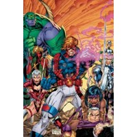 ABSOLUTE WILDCATS HC - Brandon Choi, Jim Lee, Scott Lobdell, Chris Claremont
