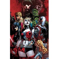 SUICIDE SQUAD REBIRTH DLX COLL HC BOOK 01 - Rob Williams