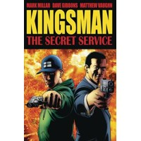 KINGSMAN SECRET SERVICE TP CVR A GIBBONS - Mark Millar