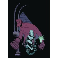 VISITOR HOW AND WHY HE STAYED #5 (OF 5) - Mike Mignola, Chris Roberson