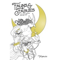 FAUNS AND FAIRIES ADULT COLORING BOOK (MR) - Trungles