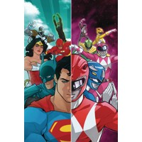 JUSTICE LEAGUE POWER RANGERS HC - Tom Taylor