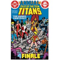 NEW TEEN TITANS THE JUDAS CONTRACT DLX ED HC - Marv Wolfman, George Perez