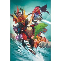 TEEN TITANS TP VOL 02 THE RISE OF AQUALAD REBIRTH - Ben Percy