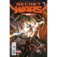 SECRET WARS #0 až 9 (OF 9) - Jonathan Hickman