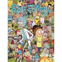 ART OF RICK & MORTY HC - James Siciliano
