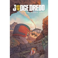 JUDGE DREDD BLESSED EARTH TP VOL 01 - Ulises Farinas, Erick Freitas