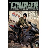 COURIER TP VOL 01 THROUGH THE ASHES - Ralph Tedesco