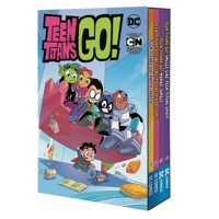TEEN TITANS GO BOX SET - Sholly Fisch, Merrill Hagan, Amy Wolfram