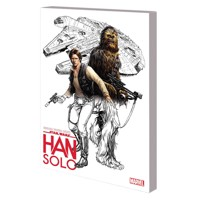 COLOR YOUR OWN STAR WARS HAN SOLO TP - Various