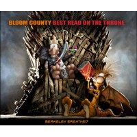 BLOOM COUNTY BEST READ THRONE TP - Berkeley Breathed