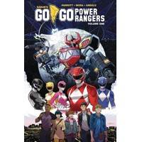 GO GO POWER RANGERS TP VOL 01 - Ryan Parrott