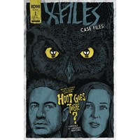 X-FILES CASE FILES HOOT GOES THERE #1 (OF 2) CVR B LENDL - Joe Lansdale, Keith...