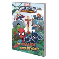 MARVEL SUPERHERO ADVENTURES HC TO WAKANDA AND BEYOND - Jim McCann