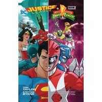 JUSTICE LEAGUE POWER RANGERS TP - Tom Taylor