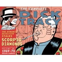 COMPLETE CHESTER GOULD DICK TRACY HC VOL 25 - Chester Gould
