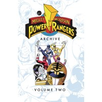 MIGHTY MORPHIN POWER RANGERS ARCHIVE TP VOL 02 - Stefan Petrucha, Dan Slott, M...