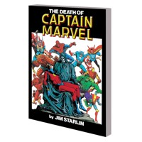 DEATH OF CAPTAIN MARVEL TP NEW PTG - Stan Lee, Roy Thomas, More