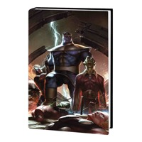 THANOS WARS INFINITY ORIGIN OMNIBUS HC LEE VAR - Jim Starlin, Mike Friedrich, ...