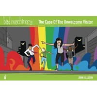 BAD MACHINERY POCKET ED GN VOL 06 CASE UNWELCOME VISITOR - John Allison