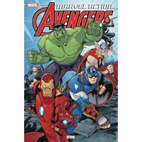 MARVEL ACTION AVENGERS TP BOOK 01 NEW DANGER - Matthew K. Manning