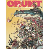 GRUNT HC ART AND UNPUBLISHED COMICS OF JAMES STOKOE - James Stokoe