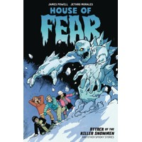 HOUSE OF FEAR TP ATTACK OF KILLER SNOWMEN & OTHER STORIES - James Powell, Daxt...