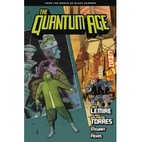 QUANTUM AGE TP FROM WORLD OF BLACK HAMMER VOL 01 - Jeff Lemire