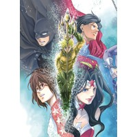 BATMAN & THE JUSTICE LEAGUE MANGA TP VOL 02 - Shiori Teshirogi