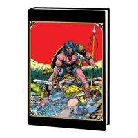 MARVEL ART OF CONAN THE BARBARIAN HC - John Rhett Thomas